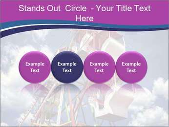 Old ferris wheel PowerPoint Template - Slide 76