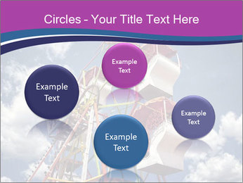 Old ferris wheel PowerPoint Template - Slide 77