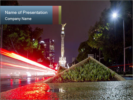 The Angel of Independence PowerPoint Templates