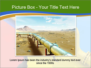 Gas pipe tied in a knot PowerPoint Templates - Slide 15