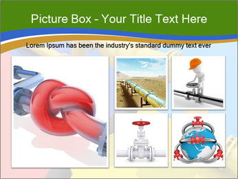 Gas pipe tied in a knot PowerPoint Templates - Slide 19