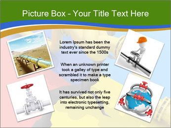 Gas pipe tied in a knot PowerPoint Templates - Slide 24