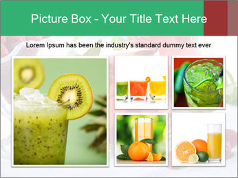 Summer raspberry cold drink PowerPoint Template - Slide 19