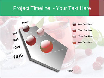 Summer raspberry cold drink PowerPoint Template - Slide 26