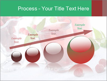 Summer raspberry cold drink PowerPoint Template - Slide 87