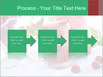 Summer raspberry cold drink PowerPoint Template - Slide 88