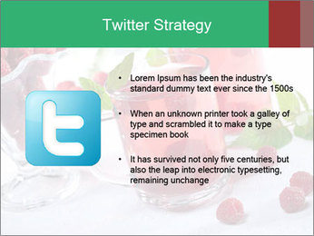 Summer raspberry cold drink PowerPoint Template - Slide 9
