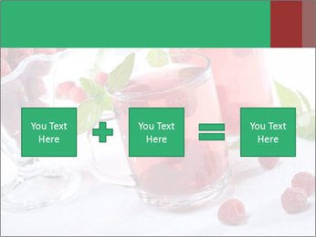 Summer raspberry cold drink PowerPoint Template - Slide 95