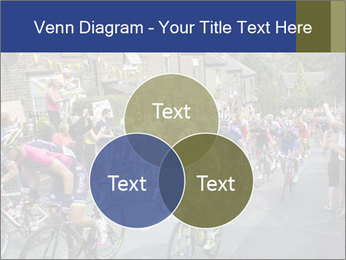 The peloton riding up PowerPoint Template - Slide 33