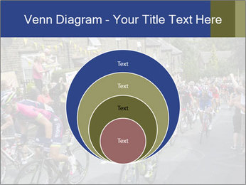 The peloton riding up PowerPoint Template - Slide 34