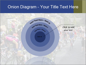 The peloton riding up PowerPoint Template - Slide 61