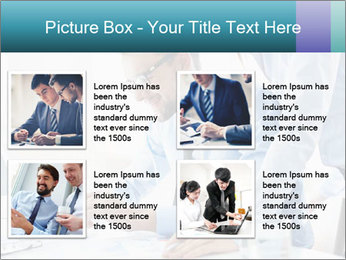 Two business partners PowerPoint Template - Slide 14