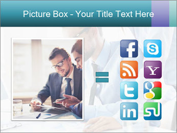 Two business partners PowerPoint Template - Slide 21