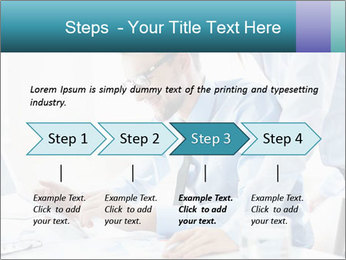 Two business partners PowerPoint Template - Slide 4