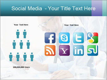 Two business partners PowerPoint Template - Slide 5
