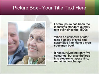 Couple looking at town PowerPoint Template - Slide 13