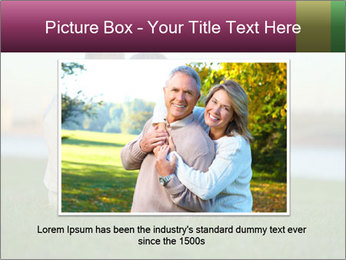 Couple looking at town PowerPoint Template - Slide 15