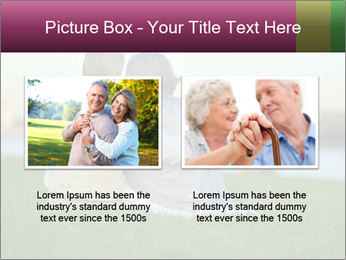 Couple looking at town PowerPoint Template - Slide 18