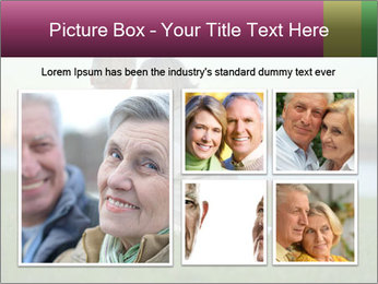Couple looking at town PowerPoint Template - Slide 19
