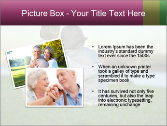 Couple looking at town PowerPoint Template - Slide 20