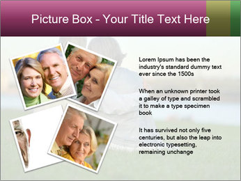 Couple looking at town PowerPoint Template - Slide 23