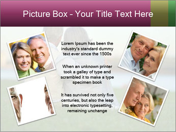 Couple looking at town PowerPoint Template - Slide 24