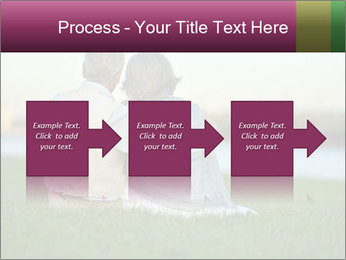 Couple looking at town PowerPoint Template - Slide 88