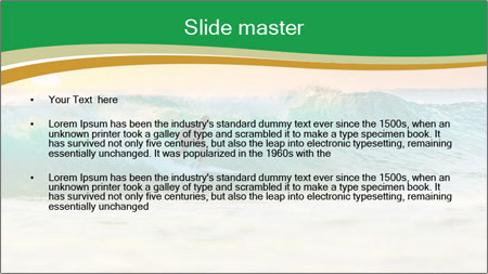 Sunrise PowerPoint Template - Slide 2