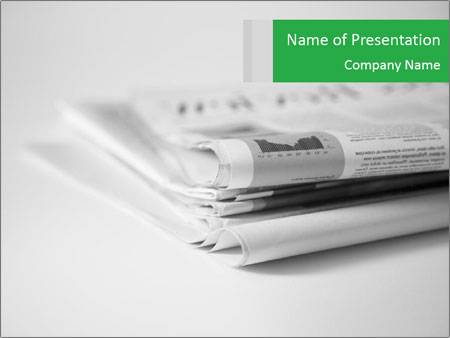 Newspapers PowerPoint Templates