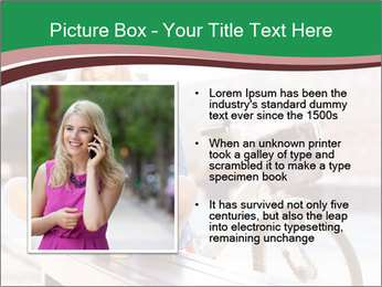 Stylish woman PowerPoint Template - Slide 13