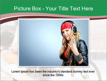 Stylish woman PowerPoint Template - Slide 16