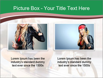 Stylish woman PowerPoint Template - Slide 18