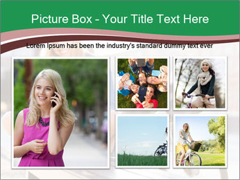 Stylish woman PowerPoint Template - Slide 19