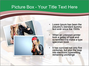 Stylish woman PowerPoint Template - Slide 20