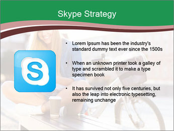 Stylish woman PowerPoint Template - Slide 8