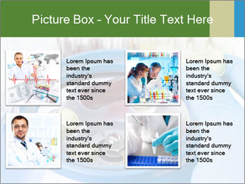 In laboratory PowerPoint Template - Slide 14