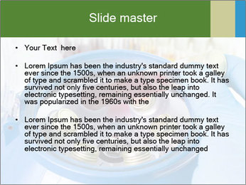 In laboratory PowerPoint Template - Slide 2