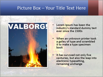 Easter fire PowerPoint Templates - Slide 13