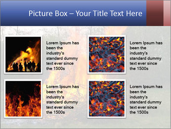 Easter fire PowerPoint Templates - Slide 14