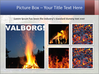 Easter fire PowerPoint Templates - Slide 19