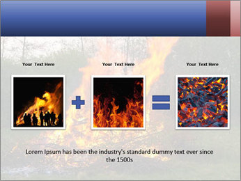 Easter fire PowerPoint Templates - Slide 22