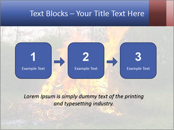 Easter fire PowerPoint Templates - Slide 71