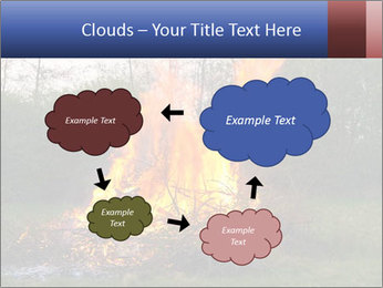 Easter fire PowerPoint Templates - Slide 72