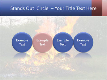 Easter fire PowerPoint Templates - Slide 76