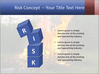 Easter fire PowerPoint Templates - Slide 81