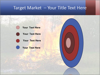 Easter fire PowerPoint Templates - Slide 84
