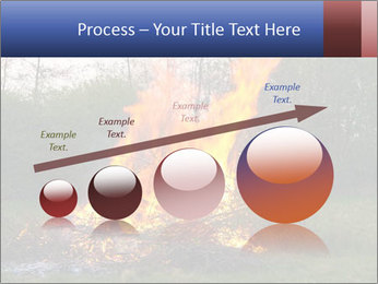 Easter fire PowerPoint Templates - Slide 87