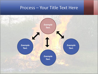 Easter fire PowerPoint Templates - Slide 91