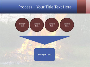 Easter fire PowerPoint Templates - Slide 93