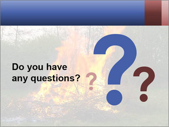Easter fire PowerPoint Templates - Slide 96